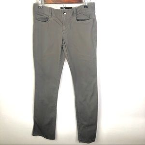 Nau Gray Organic Cotton Straight Leg Pants | Sz 4